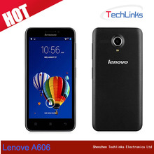 Lenovo A606 LTE 4G FDD Android phone MTK 6582 Quad Core 1.3GHz 5.0 inch TFT 854X480 5.0MP Camera