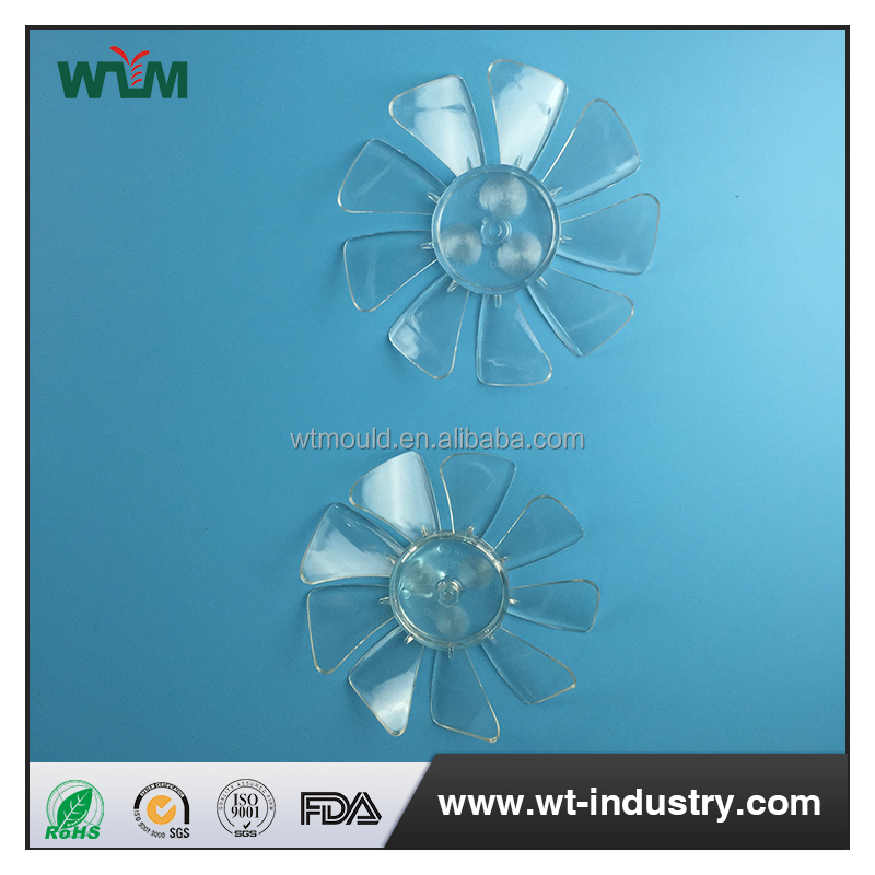 shaded pole motor mini plastic fan blade