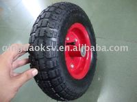 13'x400-6pneumatic rubber wheel