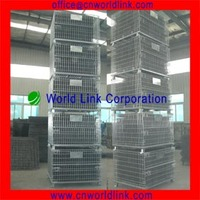 2013 Heavy Duty Foldable Galvanized Steel Crate