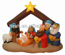 Christmas Inflatable Nativity Scenes Yard Decor
