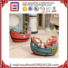 Chinese style dragon racing boat for home decoration