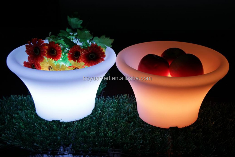 Led Furniture Led Fruit Bucket Lighting Wine Bar Shop Table Ice Bucket