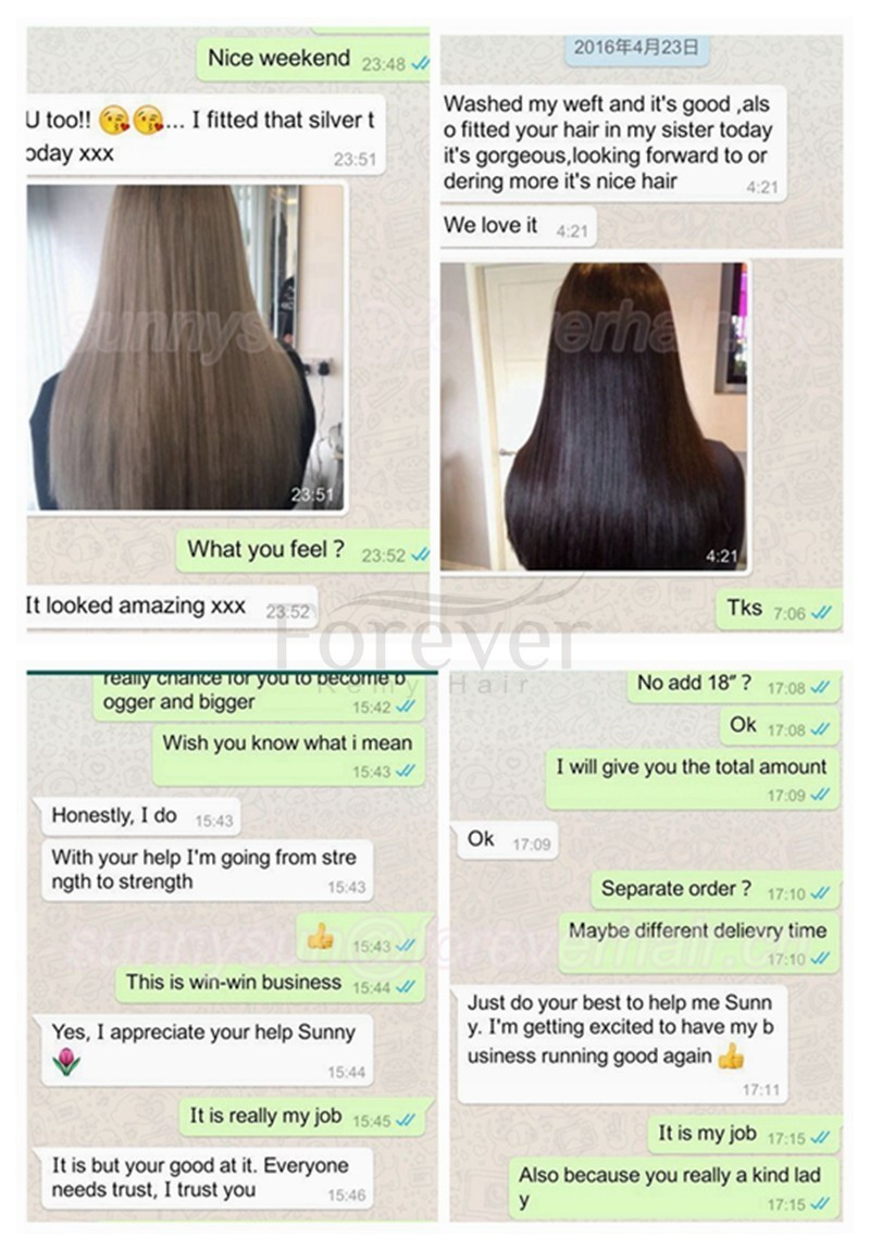 Wholesale High Quality 26 Inch Cheap Real Human Hair Extensionflat