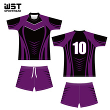 Custom wholesale sublimated polyester rugby league jerseys for your teamwear