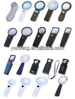 China Promotion gifts pocket led magnifier/acrylic lens/magnifier magic cutter