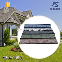 2016 new product discount low cost stone coated metal roof tile for building materials
