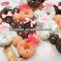 bulk resin food/cake cabochons for jewelry making wholesales