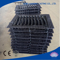 EN124 heavy duty road rain water grating,ductile cast iron storm drain grate