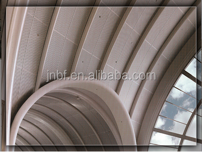 Architectural metal building material insulated corrugated aluminum roof panels