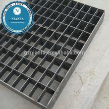 Industrial and architectural heavy duty metal round cross bar and I bar grating ( Europe standard )