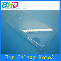 New stylish crystal clear case for galaxy note 3