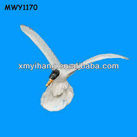 White with huge wings Ceramic Seagulls