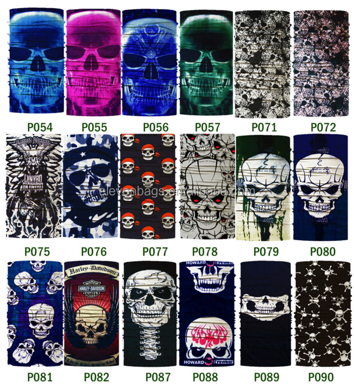 2016 Multifunctional Outdoor Seamless Tube Skull Bandana