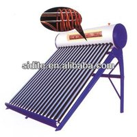 freeze resistance preheated solar water heater