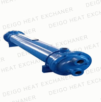 water-cooled shell tube marine heat exchanger price