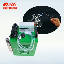 Optical crystal polisher oxy hydrogen organic glass edge acrylic flame polishing machine