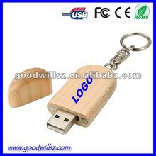 Wooden usb 3.0 driver,custom usb flash drive sample available
