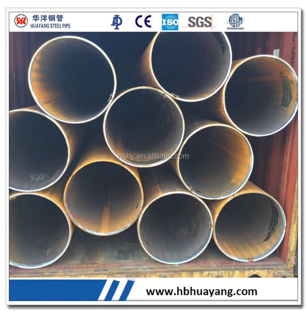 Alibaba best seller API 5L Gr.B LSAW steel carbon steel pipe for building material in China market