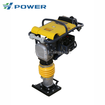Top Seller!!! Loncin engine tamping rammer with CE EPA RM 80