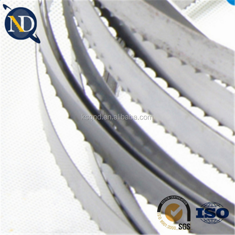 Hotel supplies hot selling food band saw blade for meat bone frozen fish cutting