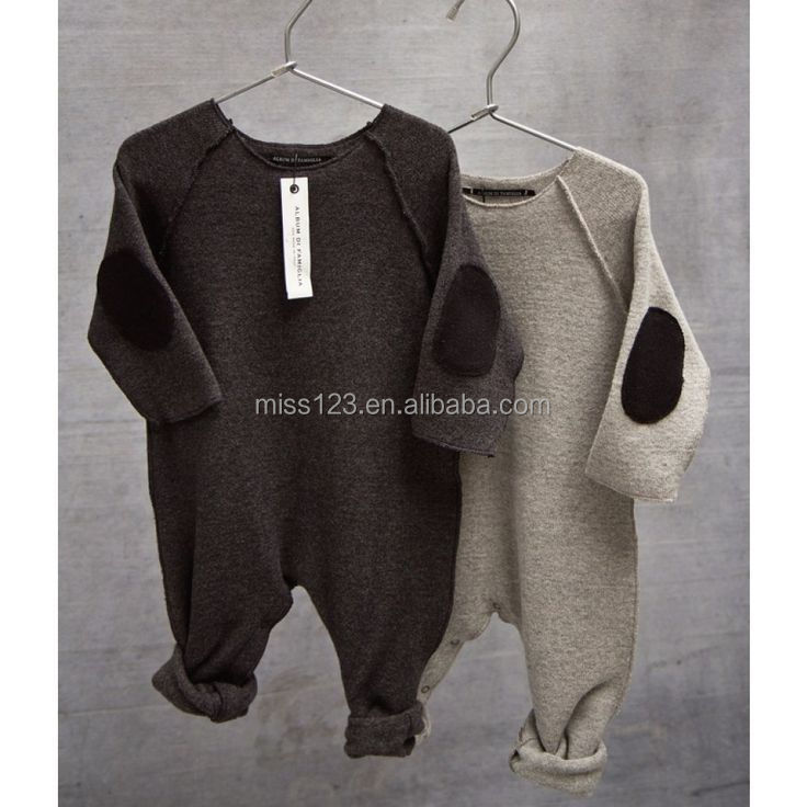 Wholesale smocked Long sleeve baby rompers cotton, baby clothes made in china