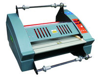 FM-3810 Single side Laminating Anti-curl Hot and cold Roll Paper Lamination