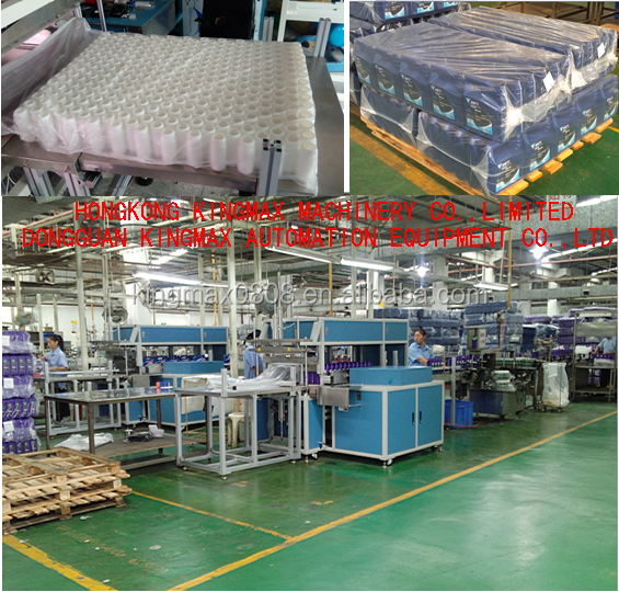 china automatic bag empty plastic bottle machine
