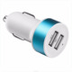 High quality mobile phone accessories dc 12v-24v input dual usb car charger
