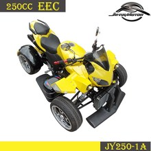 Double Seat 250cc Racing Quad ATV with eec approved