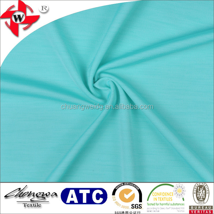 Royal Melange Jersey Spandex Fabric by the yard Jersey Soft Knit Fabric for Dresses Skirts Yoga Sports Apparel