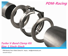 V-Band Clamp kit voor turbo uitlaatpijp
