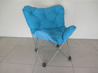 2015 new style butterfly cotton-pad chair /bench chair