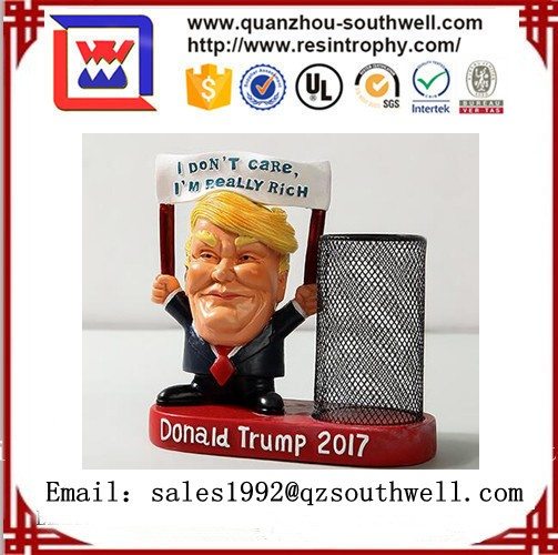 Custom Resin Donald Trump Bobblehead for sales
