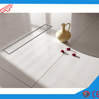 Kitchen /swimming pool /bathroom shower linear drain sink accessories supplier in China