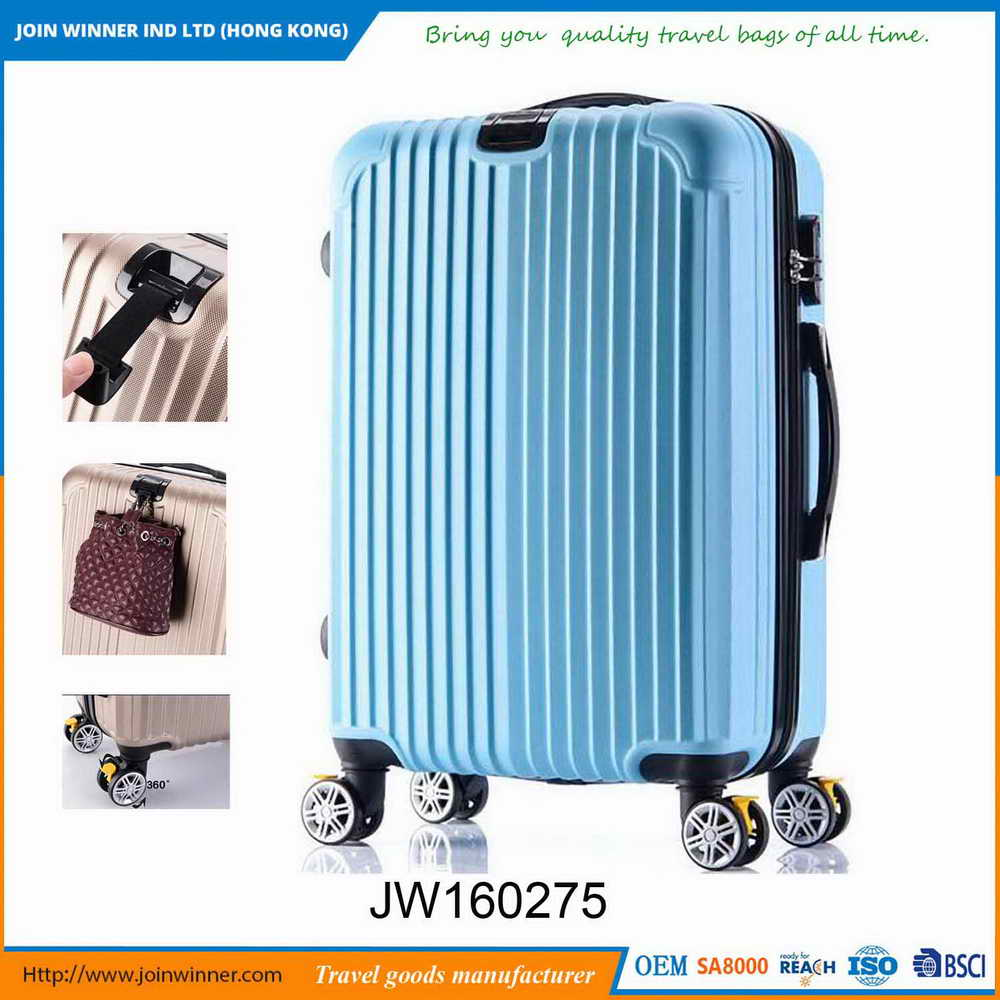 Comfortable handfeel Leopard Hard Case Luggage With Best Quality And Low Price