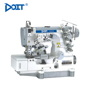 DT500-02BB high speed flat bed coverstitch Tape binding interlock sewing machine price