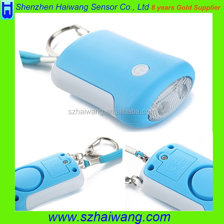 Security Alarm System Electrical Self Defense Printed Personal Alarm