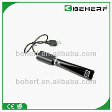 Beherf dry herb vaporizer e cigarette V6 variable voltage lcd battery portable herb vaporizer v6
