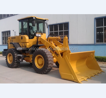 3 ton wheel loader with 4-in-1 bucket