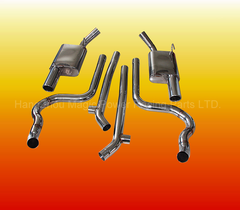 Performance Catback Exhaust System of ford mustang parts For Ford Mustang GT 4.6L V8 05-08 (Fits:Ford Mustang)