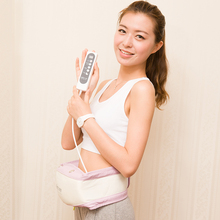 Electric hot shaper vibrating weight loss infrared body fitless slimming sauna belt machine massager