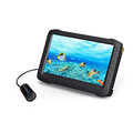 "underwater 1-50m cable HD mini LED/IR fish finder fishing video camera with 5"" LCD monitor(motion detect,loop recording)"