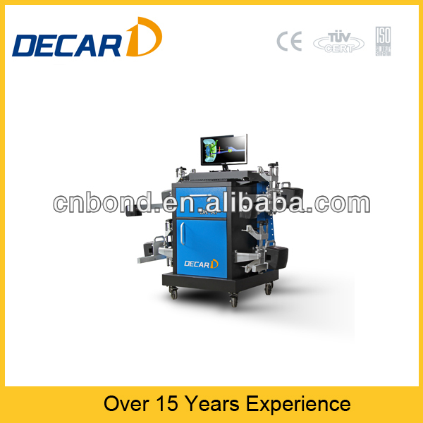 4 wheel alignment machine CCD wheel aligner CE