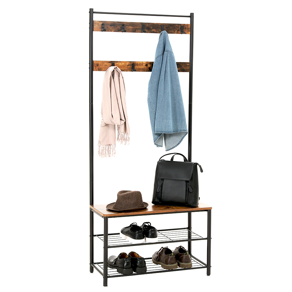 Furniture <strong>Manufacturers</strong> List Iron Frame Coat Rack Metal Coat Rack <strong>Shoe</strong> Rack Combo