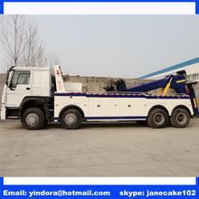 Sinotruk howo 8x4 50 ton rotator towing truck for sale