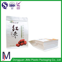 500g Custom Logo Flat Bottom Plastic Bag /Jujube Bag Packing
