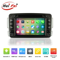 For Mercedes Benz W203 Pure Android 5.1.1 Car DVD GPS Navigation System