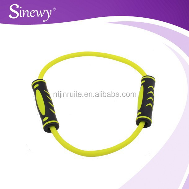 Eco-friendly resistance tube ;O shape chest expander