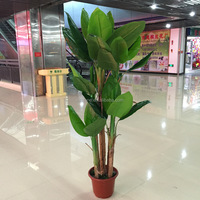 Simulation of banana tree home decoration artificial banana trees manufacturers selling wholesale